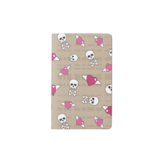 Skulls Pocket Moleskine Notebook