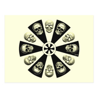 Skulls Postcards