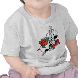 Skulls, Roses and Dagger Tshirt