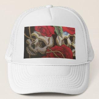 Skulls/Roses Trucker Hat