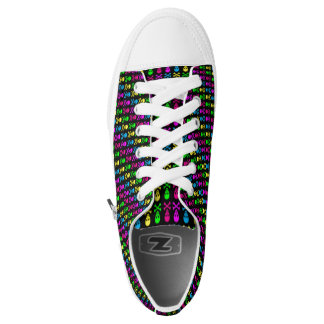 skulls skulls and more neon skulls low tops
