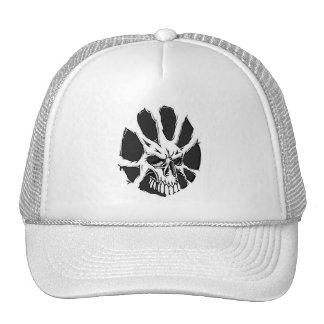 skulls tattoo trucker hat