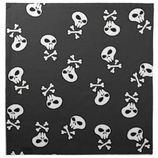 Skulls Tile Napkin