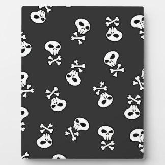 Skulls Tile Plaque