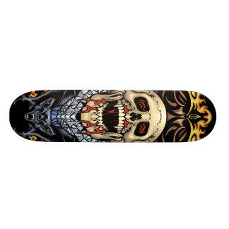 Skulls, Vampires and Bats customizable by Al Rio Custom Skateboard