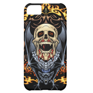 Skulls Vampires and Bats Gothic Design by Al Rio Cover For iPhone 5C