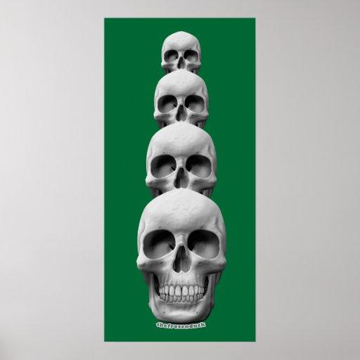 Skulls - Vertical Print