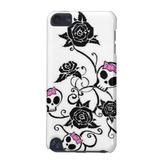 Skulls with Bows and Roses iPod Touch (5th Generation) Covers