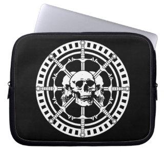 Skulls with Swords Computer Sleeve