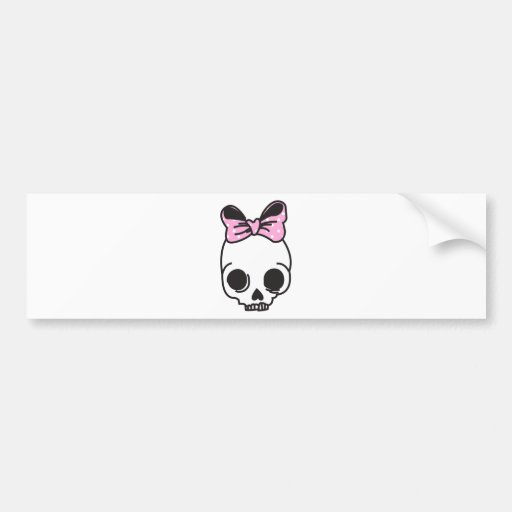 skully bumper stickers