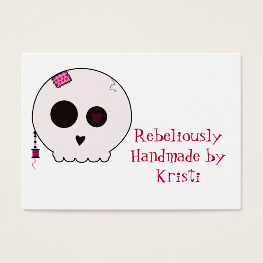 Skully Crafter Hang Tag