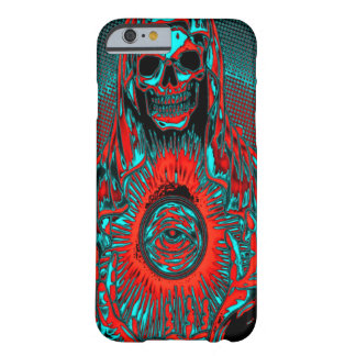 Skully Skull Apocalypse Horseman Death Barely There iPhone 6 Case
