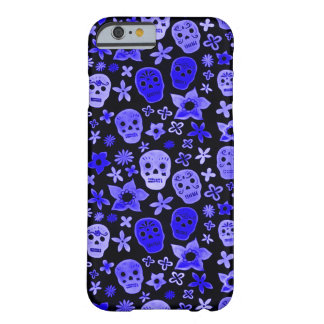 Skully Skull Blue Voodoo Priest Barely There iPhone 6 Case