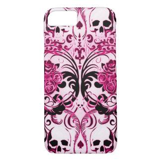 Skully Skull Pink Death iPhone 7 Case