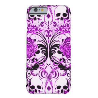 Skully Skull Purple Death Barely There iPhone 6 Case