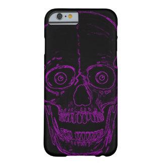 Skully Skull Purple Demon Skull Barely There iPhone 6 Case