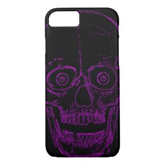 Skully Skull Purple Demon Skull iPhone 7 Case