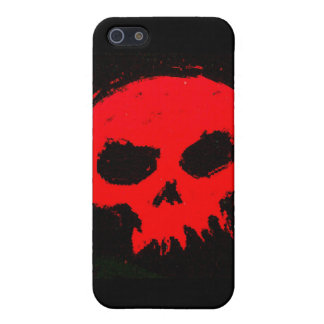 Skully Skull Red Death iPhone 5 Cover