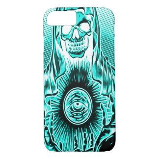Skully Skull Retro Astral Death iPhone 7 Case