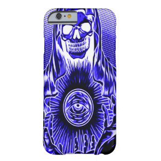 Skully Skull Retro Midnight Death Barely There iPhone 6 Case