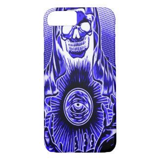 Skully Skull Retro Midnight Death iPhone 7 Case
