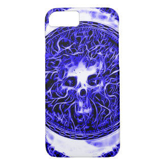 Skully Skull Voodoo Priest iPhone 7 Case
