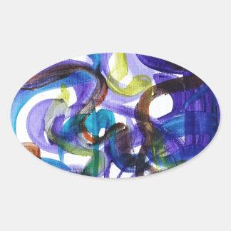 Skulpcha Oval Sticker