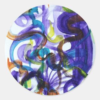 Skulpcha Round Sticker