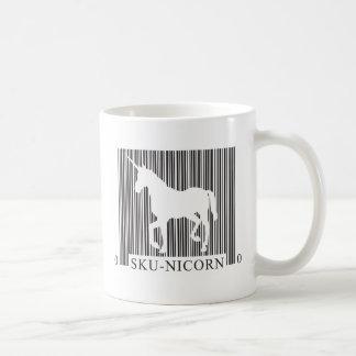 SKUnicorn Basic White Mug