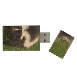 skunk-2 wood USB 2.0 flash drive