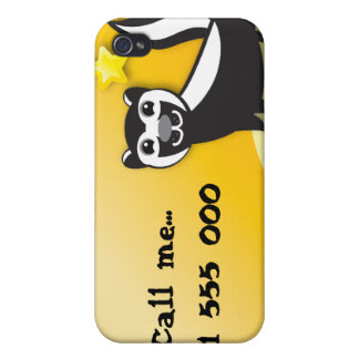 SKUNK cute Kawaii smiling iPhone 4/4S Case