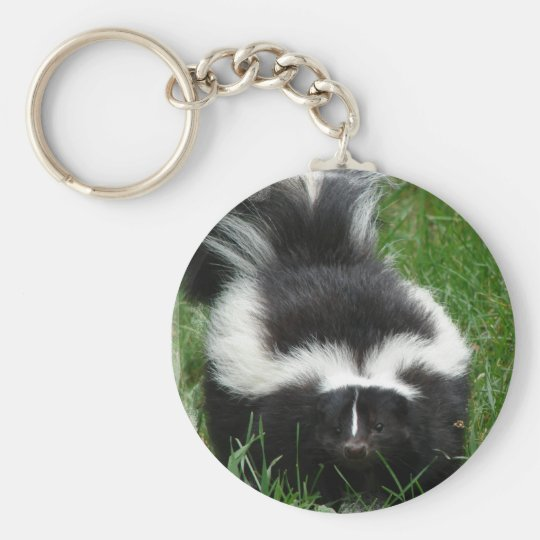 Skunk Keychain