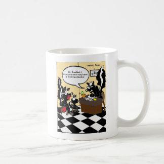 Skunk Learning Disodors Funny Gifts & Tees Basic White Mug