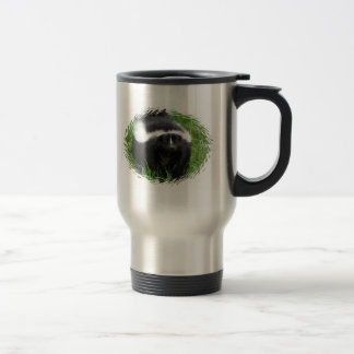 Skunk Photo Stainless Steel Travel Mug