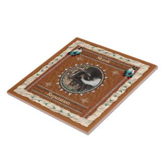 Skunk  -Reputation- Ceramic Tile