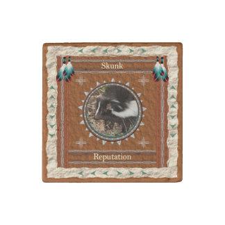 Skunk  -Reputation- Primed Marble Magnet