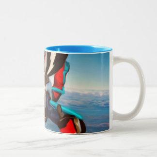 Skunk Skydiver Mugs