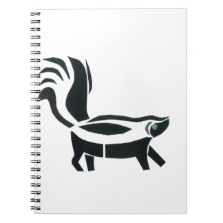 Skunked Spiral Note Books