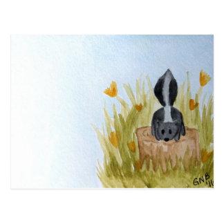 Skunky Stump Postcard