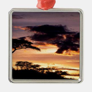 Sky A Beginning Tanzania Africa Christmas Ornament