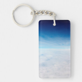 Sky Above The Clouds Key Ring