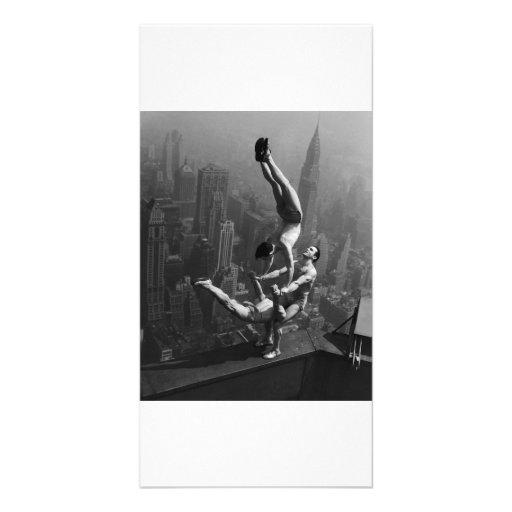 Sky Acrobatics Photo Card