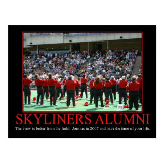 Sky Alumni Postcard