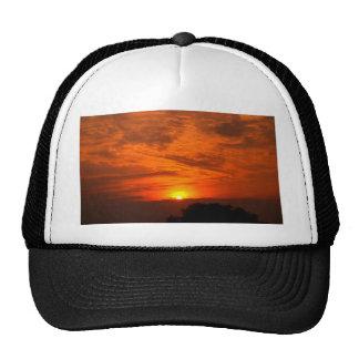 sky  and  cloud  /  sunset cap