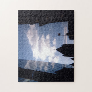 Sky and Clouds in City Jigsaw Puzzle