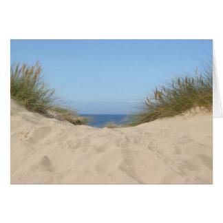 Sky and Sand Blank Card