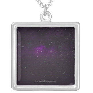 Sky at Night Silver Plated Necklace