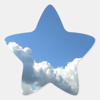 Sky Beautiful Lake Clouds Star Stickers