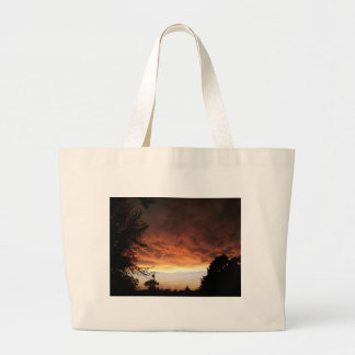 Sky before the storm canvas bags
