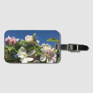 Sky blossom luggage tag